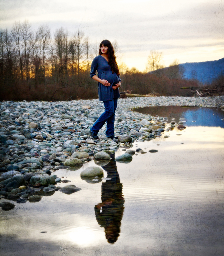Monica by the River